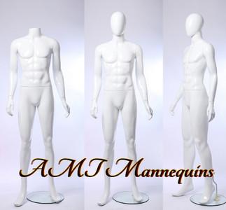 Mannequin Male Standing Model Leo (Plastic)