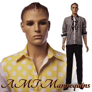 Mannequin Male Standing Model Greg (Plastic)