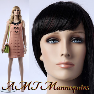 Mannequin Female Standing Model Ava (Plastic)
