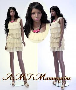 Mannequin Female Standing Model Tanya (Plastic)