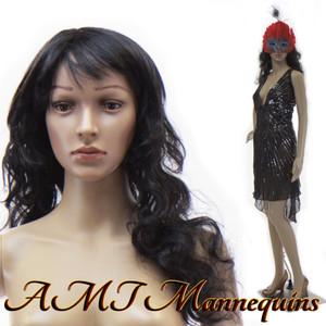 Mannequin Female Standing Model Janice (Plastic)