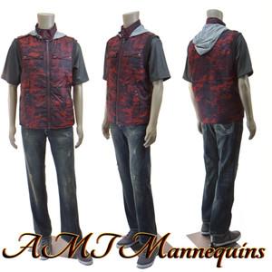 Mannequin Male Standing Model Al (Plastic)