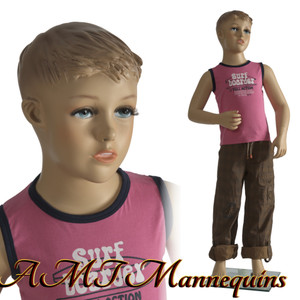 Mannequin Male Standing Child Model Sky