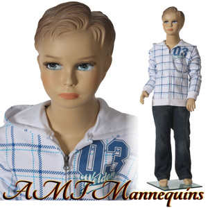Mannequin Male Standing Child Model Stan