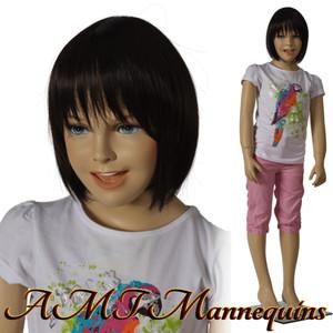 Mannequin Female Standing Child Model Kim