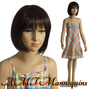 Mannequin Female Standing Child Model Trey