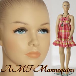 Mannequin Female Standing Child Model Hope