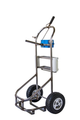 Dula stainless steel service cart frame only
