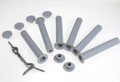 GLI Inground PROTECT A POOL Safety Fence 5' Hardware Kit