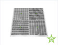 """AquaStar -24xxx - 24"""" Square Frame with Four 12"""" Square Flat Grate Anti-Entrapment Suction Outlet Covers"""