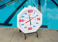 "Competitor 31"" Pace Clock with White Face Battery Powered"