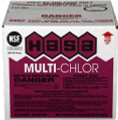 HASA Multi-Chlor 4 x 1 Case Non Deposit NSF 12.5 Sodium Hypochlorite