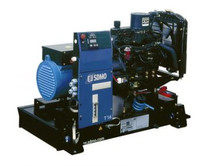 16 KW MITSUBISHI Generator 20 KVA, Three phase, SDMO T16U II Open
