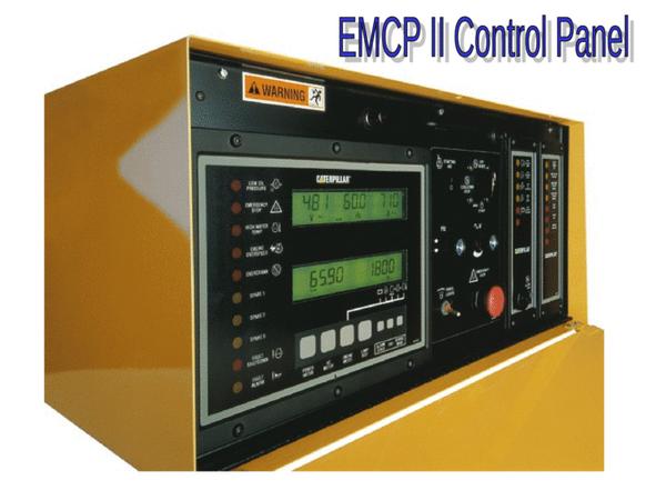 caterpillar emcp ii electronic modular control panel ace power parts store