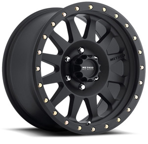 Method Race Wheels - Double Standard Black 17x8.5
