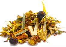 This antioxidant rich blend of organic Rooibos and Honeybush is combined with juniper berries, marigold and birch leaves to promote a healthy immune system and cleanse away the effects of harmful toxins. Enjoy warm or cold. Naturally caffeine free.