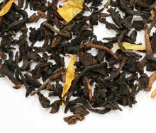 Decaf Apricot tea with sweet apricots. Decaffeinated using a natural CO-2 process, that allows leaves to retain their delicate shape and flavor.