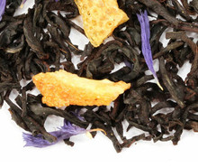 A classic blend of premium black tea from Sri Lanka, flavored with bergamot (a citrus fruit). The perfect afternoon tea: zesty and exhilarating fresh citrus aroma, slightly dry to the nose, with a rounded and balanced orange rind flavor to match the tang of the Ceylon. Pleasantly dry finish with lingering citrus sweetness.