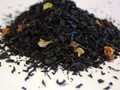 Black tea, organic black tea, cinnamon, ginger, citrus peel, carrots, cloves, rose petals