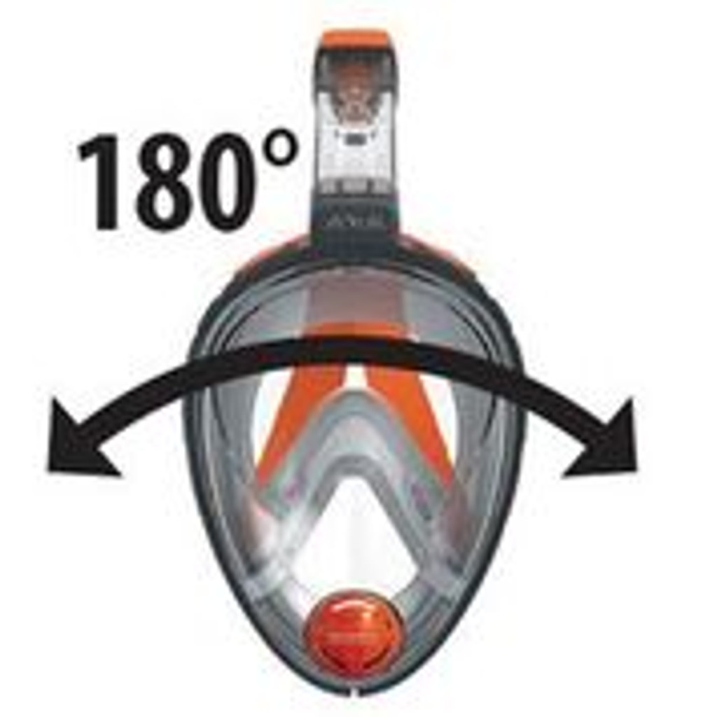 ARIA Snorkeling Mask GREY