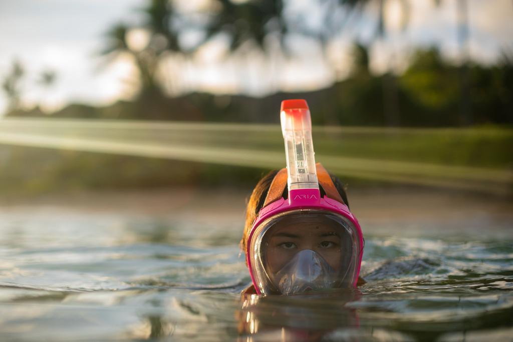 ARIA Snorkeling Mask PINK