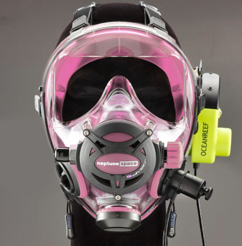 G.divers Full Face Mask + GSM G.divers - Pink
