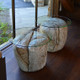 Faux Granite End Tables, Call or email for quote. Individual or as a pair, with or without glass
