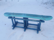 Mission Style Snowboard Bench