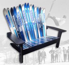 Adirondack Style Ski Bench