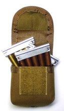 Mosin Nagant molle pouch holds 3 stripper clips