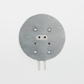 """Satco 80-2044 Round Analog Socket with 24"""" Leads"""