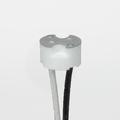 "Satco 80-1873 G8 Porcelain Halogen Socket with 6"" Leads"