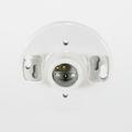 Satco 90-445 2-Terminal Porcelain Medium Base Ceiling Receptacle