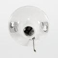 "Satco 90-1503 Phenolic Medium Base Ceiling Receptacle with 6"" Leads Pull Chain"