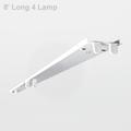 Howard FSR8 Fluorescent Retrofit Strip 4 Lamp 32W T8 (High Ballast Factor)