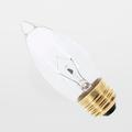 Satco 25B11 25W 130V Torpedo Clear Chandelier Medium Light Bulb (Box of 25)