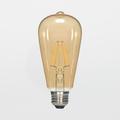 Satco S9272 6.5W ST19 LED Filament Lamp