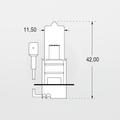 Orbitec A64156 (122760) 24V 70W PK22S Automobile Lamp