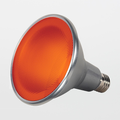 Satco PAR38 15W Amber LED Flood Lamp