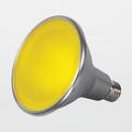 Satco PAR38 15W Yellow LED Flood Lamp