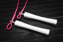 NEW White AXEL Jump Rope