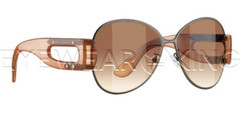 New Authentic Balenciaga Semi-Matte Ruthenium Peach Sunglasses Frame BAL 0139 D9L Angle-1 | Eyewearking.com