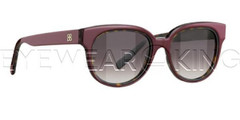 New Authentic Balenciaga Burgundy Havana Sunglasses Frame BAL 0137 90N Angle-1 | Eyewearking.com