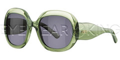 New Authentic Balenciaga Green Sunglasses Frame BAL 0125 BB9 Angle-1 | Eyewearking.com