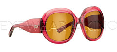 New Authentic Balenciaga Burgundy Sunglasses Frame BAL 0125 MX8 Angle-1 | Eyewearking.com