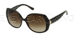 New Authentic Balenciaga Striped Brown Sunglasses Frame BAL 0095 ITH Angle-1 | Eyewearking.com
