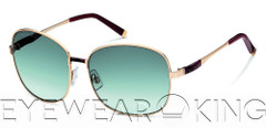 New Authentic DSquared2 Rose Gold Sunglasses DQ 0033 28P