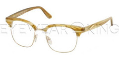 New Authentic Balenciaga Horn Rose Gold Eyeglasses Frame BAL 0120 VA7 Angle-1 | Eyewearking.com