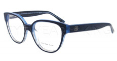 New Authentic Balenciaga Blue Clear Eyeglasses Frame BAL 0118 XQE Angle-1 | Eyewearking.com