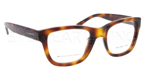 New Authentic Balenciaga Dark Havana Eyeglasses Frame BAL 0119 05L Angle-1 | Eyewearking.com